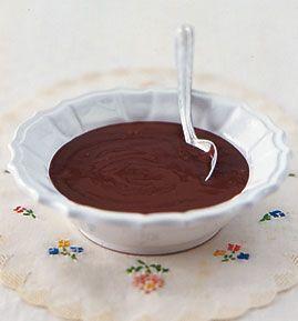 """Selbst gemachter Schokopudding ... entweder so oder selbst gemachtes Schokoladenmousse, alles andere ist """"bäh"""" ;-)"""