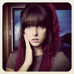 brown hair styles 9 best tessa violet images on violet hair 3066