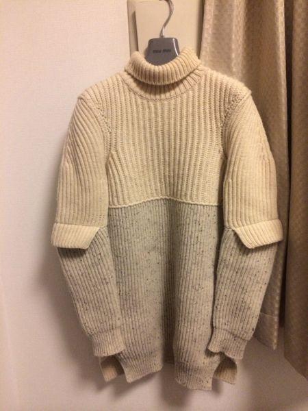 セリーヌ ウールセーター フィービーデザイン oversized turtleneck knit (xs) • céline35,000 円