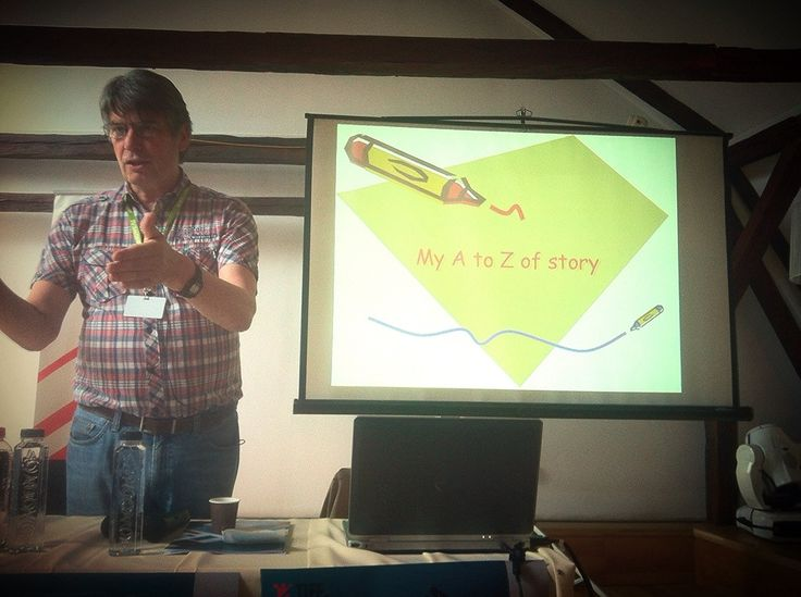 "HIGHLIGHTS from today's masterclass - Nik Powell's ""A to Z of Story"" Masterclass at TIFF"