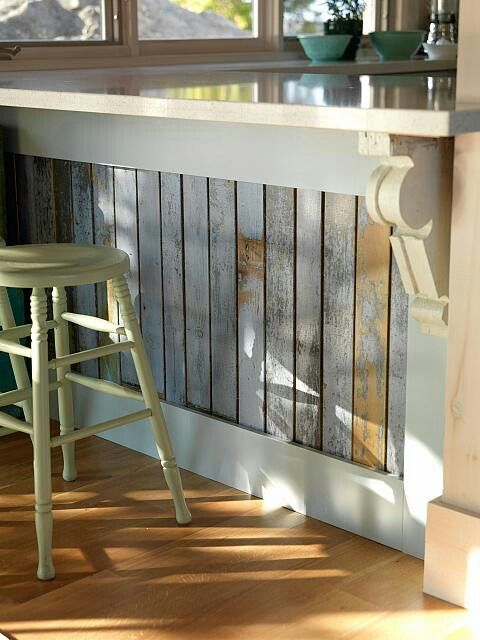 Sarah Richardson Designs:  Upcycle the old cedar fencing.