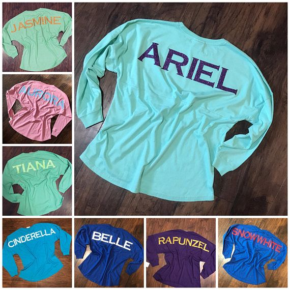 Get Cozy and Stylish with these Disney Princess Inspired Spirit Jerseys