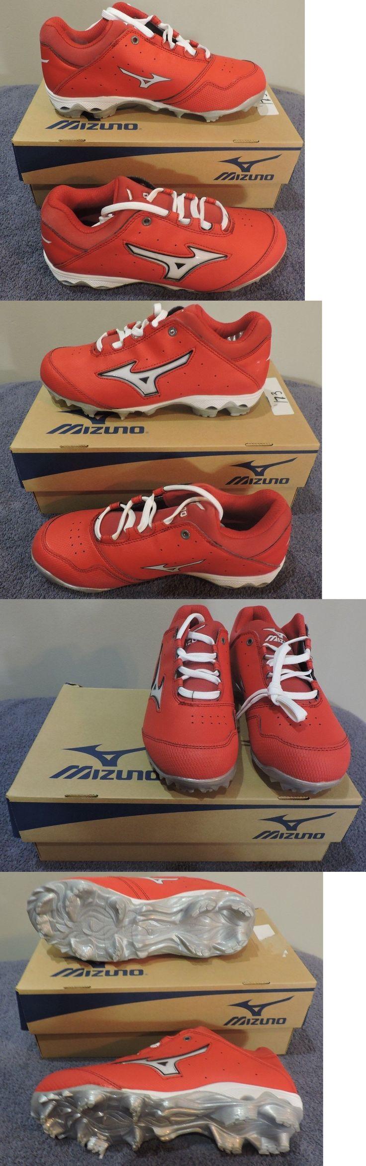 Womens 159060: Mizuno 9 Spike Finch Elite Switch Red/White Softball Cleats Sz 10(W)-Nib -> BUY IT NOW ONLY: $50.0 on eBay!