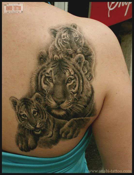 50 wirklich erstaunliche Tiger Tattoos für Männer und Frauen #erstaunliche #fr…