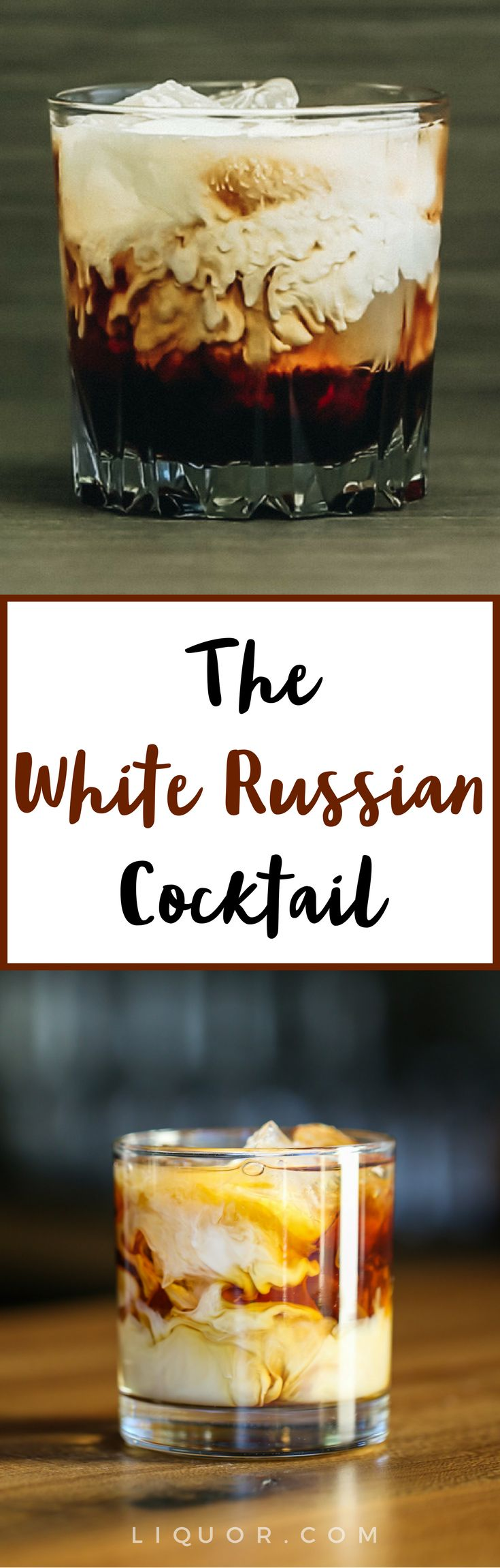 The #White #Russian is The Dude's favorite cocktail and the classic easy drink we've been dreaming of.