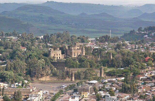 Castillo de gondar Etiopia