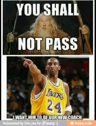 I'm a lakers fan but I will say this is kinda funny #interestingsportsmemes