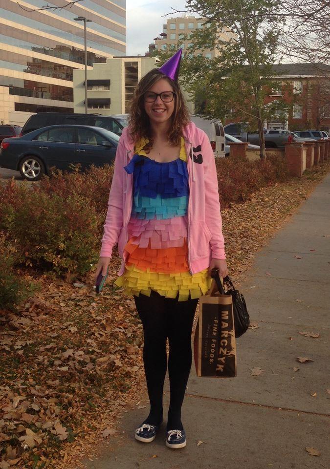 colorful halloween dress