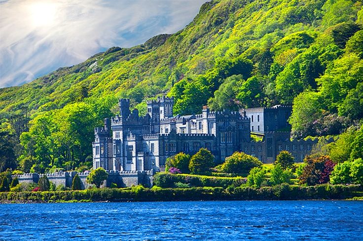 Kylemore Abbey, Connemara, County Galway, Ireland: Ireland Pictures, Ireland I Hope, Galway Ireland, County Galway, Connemara County, Beautiful Places, Castles, Ireland Been, Ireland Her