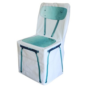 Fitih Zip Chair Cover Turquoise, £56, now featured on Fab.