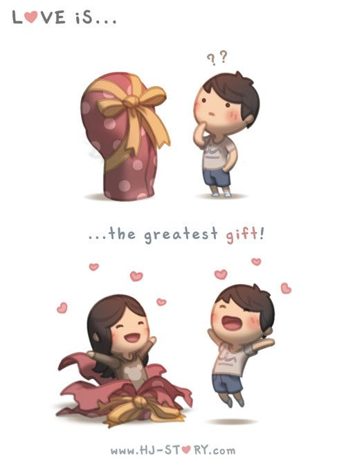 Check out the comic HJ-Story :: Greatest Gift Loved & pinned by http://www.shivohamyoga.nl/ #loveis #hjstory #love