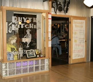 Rhythm Kitchen Is A Fun Eclectic Cafe Along Water Street In Downtown Peoria That Often Has Live