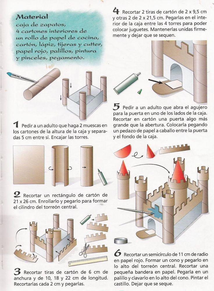 hacer un castillo
