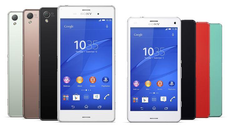 Sony Xperia Z3 vs Xperia Z3 Compact: Design, Specs, Camera, Features
