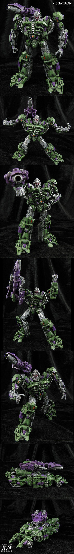 •G2 style Movie Megatron Custom Figure by Jin-Saotome