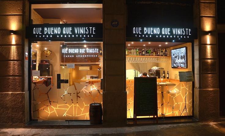 QUE BUENO QUE VINISTE, Tapas Argentinas. Carrer de la ciutat Nº10, Barcelona, 08002 Tel: 93 318 46 76