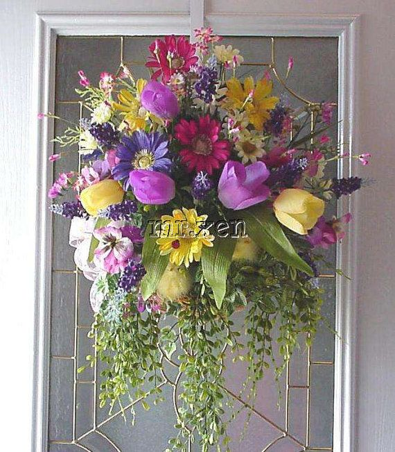 1000 Images About Wall Flower Arrangements On Pinterest