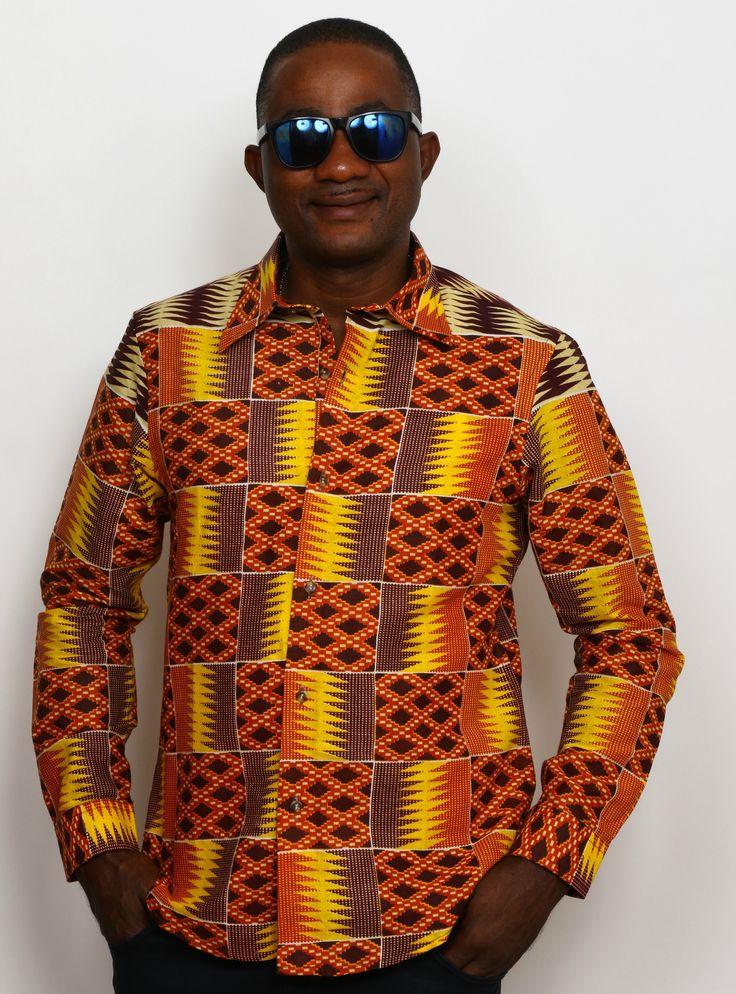 Check this out! Wax print long sleeve shirts http://shop.modafricana.com/products/wax-print-long-sleeve-shirts-7