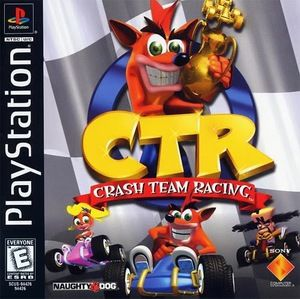 Complete CTR Crash Team Racing - PS1 Game