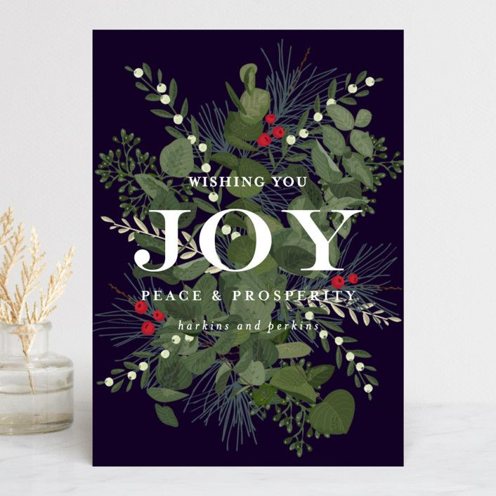 Joy and Prosperity | Cards - Christmas | Pinterest | Business ...