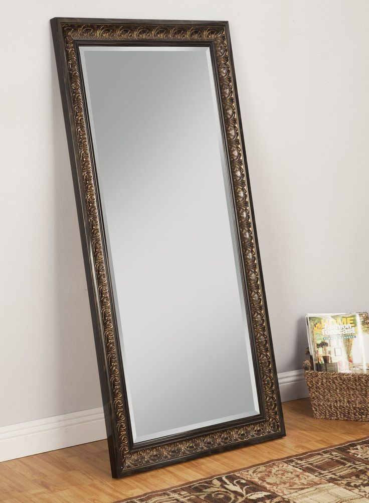 Contemporary leaning floor mirrors