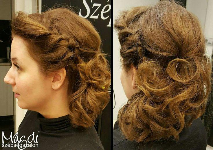 Egyre több érdeklődés az esküvői konytok iránt, már kezdődik az esküvői szezon? 😃 Mi nagyon szeretjük, kiélhetjük kreativításunkat! 😃👰💖  www.magdiszepsegszalon.hu  #esküvőikészülődés #konty #próbakonty #esküvőmlesz #menyasszony #hairbun #prepareforwedding #beautysalon #szépségszalon #fodrász #hairdresser