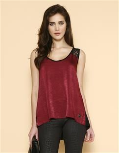 BLUSA CAVADA MIX VISCO PLUS