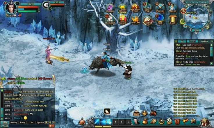 Yitien is a browser based, turnbased action games