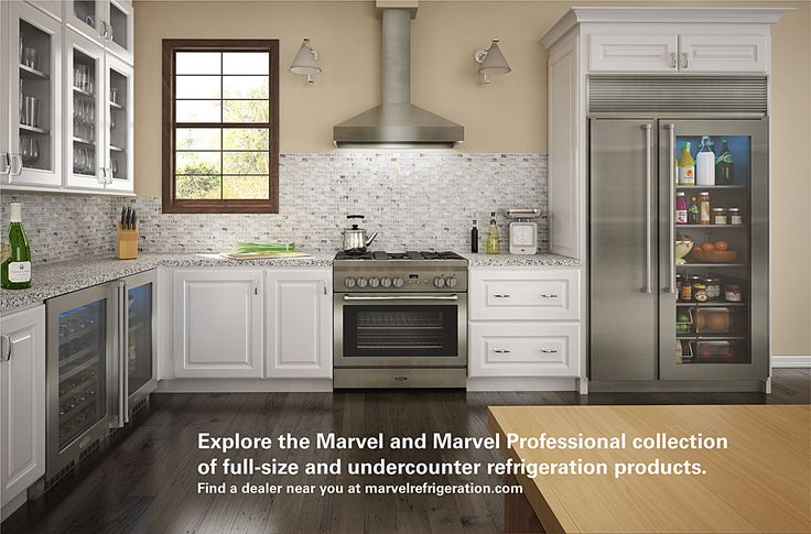 Marvel Refrigeration Collection of Full-Size and Undercounter Refrigerators