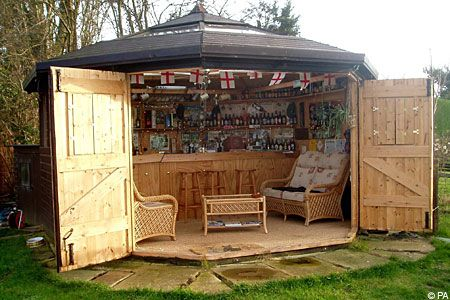 Garden pub, this exactly what I want!!!