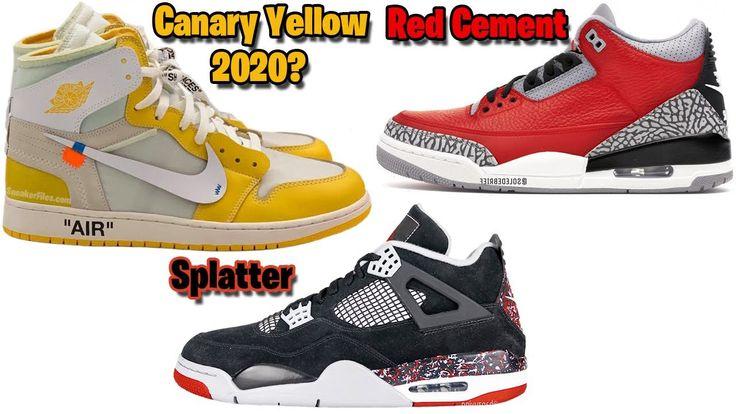 OFFWHITE x AIR JORDAN 1 CANARY YELLOW 2020? JORDAN 3 RED