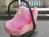 Sissi - Autokindersitz Schonbezug - Cowboys-und-Prinzessinnen - Babyschalenbezüge - Baby unterwegs - DaWanda