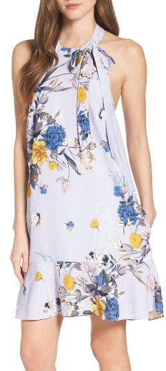 Women's Chelsea28 Bow A-Line Dress