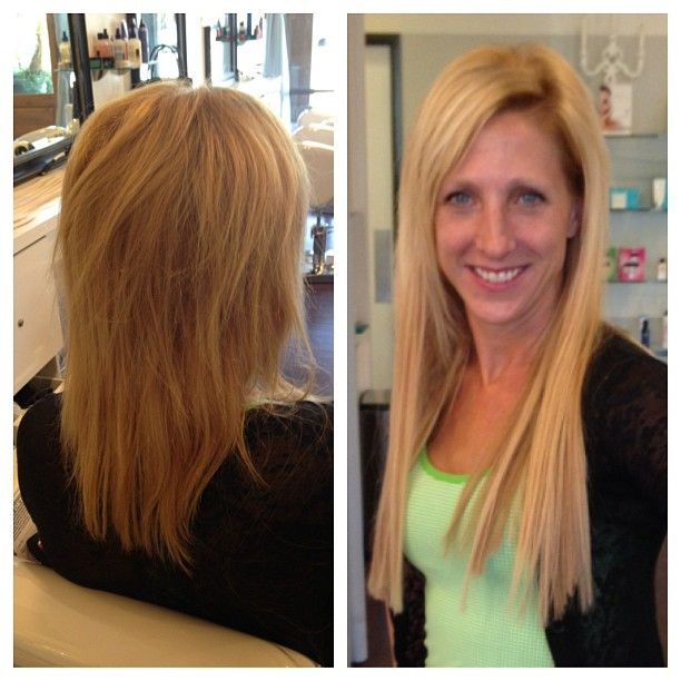 23 best hair extensions dream catchers images on pinterest primpandblow client before and after hair extensions we guarantee the hair for 2 years pmusecretfo Gallery