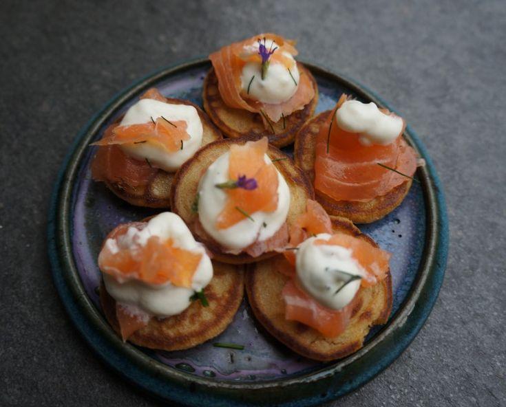 Bouchées apéritive au saumon fumé- Art de Vivre Smoked Salmon Appetizer