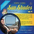 Easy Static Cling Sun Shades. 2 PACK. No SUCTION CUPS NEEDED. The car window shade provides an SPF 30. Easy to stick & remove car sun shade keeps you cool, window shades for car, Kids & Pets.