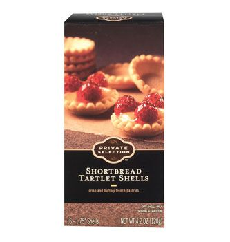 Try Shortbread Tartlet Shells and other Baking from Private Selection! Gourmet recipes and artisan foods at the Kroger family of stores.