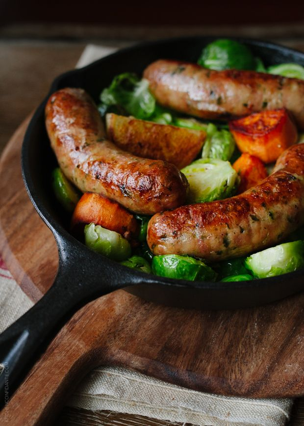 Craving sausage? This skillets got your back. Get the recipe from Kitchen Confidante.   - Delish.com