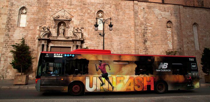 Autobuses publicitarios EMT Valencia - Exterion Media