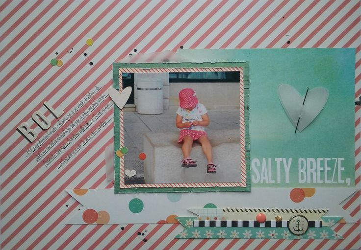Simple Stories - Summer Vibes Challenge Pretty Papers 05