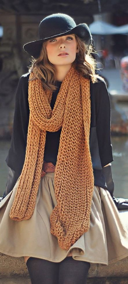 a fabulous crocheted scarf