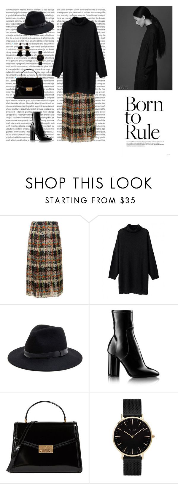 """""""13/10"""" by dorey on Polyvore featuring Blumarine, Sole Society, Louis Vuitton, Tory Burch and CLUSE"""