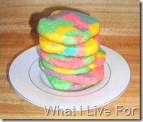Tie Dye Sugar Cookies- for a rainy summer day this will be a winner.