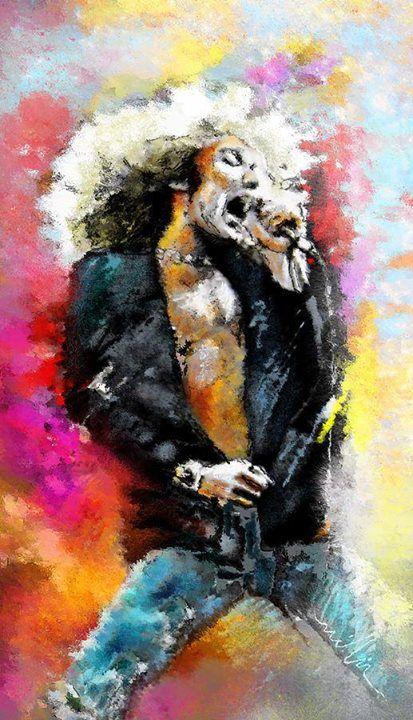 Robert Plant artwork