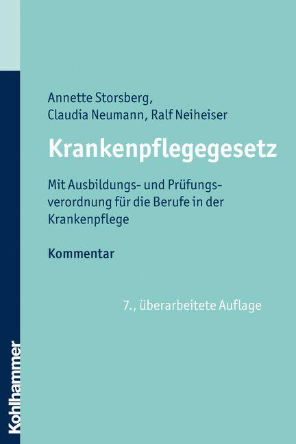 #Krankenpflegegesetz, Annette Storsberg/Claudia Neumann/Ralf Neiheiser bei Dienst am Buch Vertriebsgesellschaft mbH