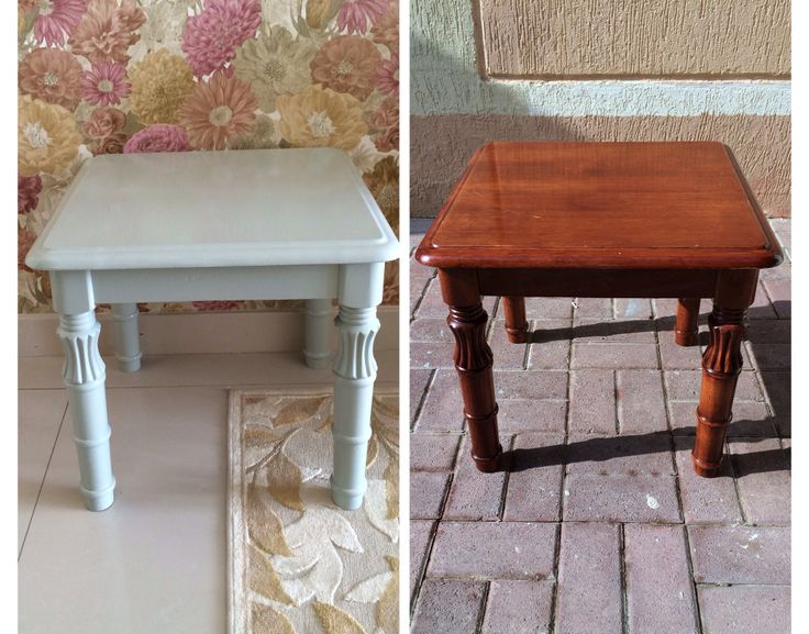 My first furniture painting project and i love it !