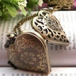 I really love the old-fashioned look of vintage style jewelry. Heart-shaped lockets in particular have a romantic, nostalgic feel, reminiscent...