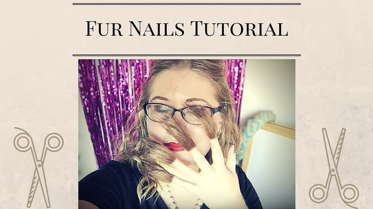 Fur Nail Art Tutorial check out my tutorial to get fur nails! the hottest nail art trend at the moment! #furnails #nailart by @daniellem824