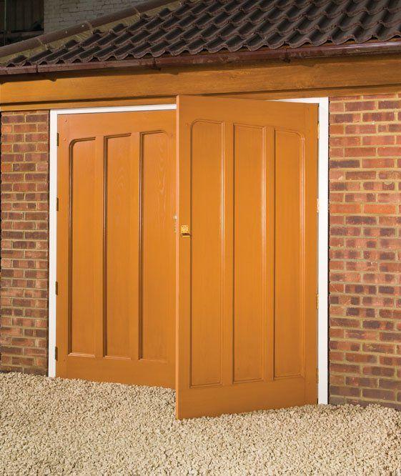 Appealing Side Hinged Upvc Garage Doors Gallery - Plan 3D house ...