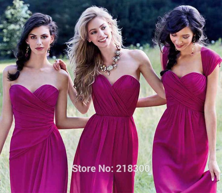 8 best Bridesmaids dresses images on Pinterest | Magenta ...